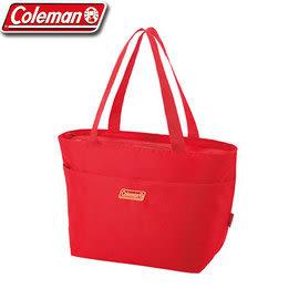 【偉盟公司貨】丹大戶外【Coleman】美國 莓果紅保冷袋 保冷手提袋/野餐保冰桶/保溫袋 15L CM-27221