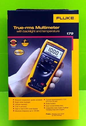 [玉山最低比價網] (公司貨) FLUKE 179 福祿克真有效值工業數字萬用表 F179