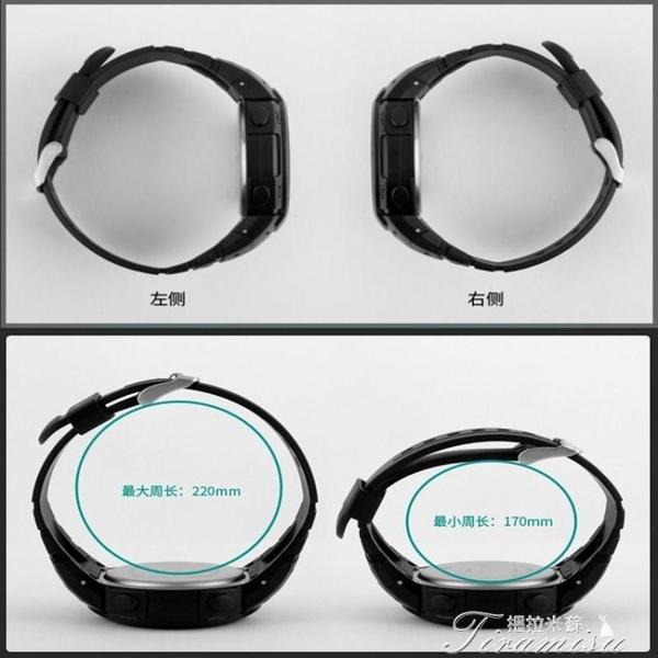 戶外手錶-數字學生手錶男運動多功能夜光LED戶外運動電子手錶 提拉米蘇