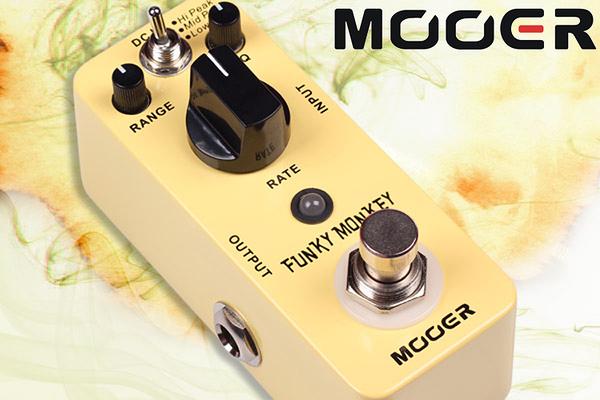 小叮噹的店 - MOOER 自動哇音單塊 Funky Monkey (MREG-FM) 效果器