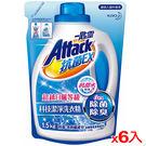 (9月特賣主打)一匙靈抗菌EX科技潔淨洗衣精補充包1.5kg*6(箱)【愛買】