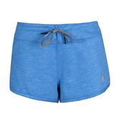【ASICS 亞瑟士】女 運動短褲 慢跑短褲 可兩面穿 有小口袋 - 140904-8032 藍 [陽光樂活]