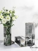 玻璃花瓶北歐風透明簡約水養插花擺件【時尚大衣櫥】
