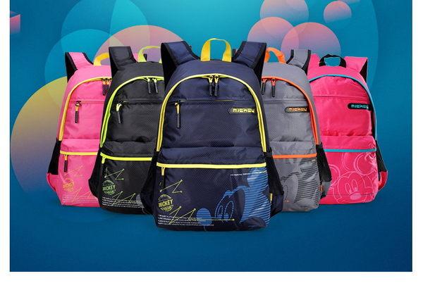 迪士尼書包小學生1-3-6年級男童女童米奇雙肩護脊減負兒童背包4-6
