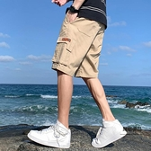 男士短褲夏季休閒褲寬鬆工裝休閒【聚物優品】