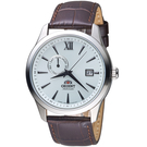 ORIENT東方錶 Classic Design系列簡約日期機械錶 FAL00006W