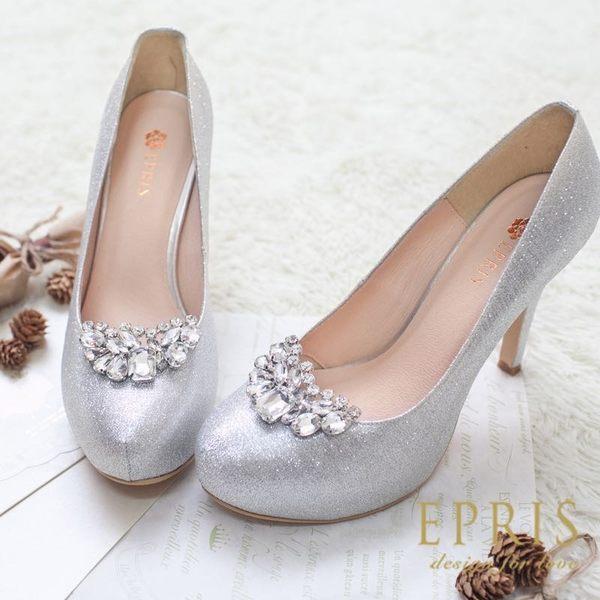 韓版彎彎微笑水鑽鞋扣鞋夾配飾