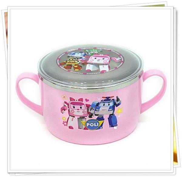 POLI 安寶 701446 附蓋 304 不鏽鋼碗 大碗 湯碗 雙耳碗 600ml 雙耳碗 奶爸商城