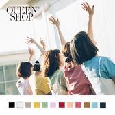 Queen Shop【01036916】基本款多色圓領素T 十二色售 S/M*預購*