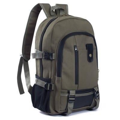 後背包男士后背包包旅行李大容量休閒男土用青年帆布裝衣服的旅游後背包  愛丫愛丫