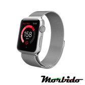 Morbido蒙彼多Apple Watch 40mm米蘭式磁吸不鏽鋼錶帶(銀)