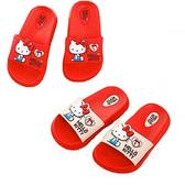 (e鞋院)Hello Kitty 兒童拖鞋 1雙米17CM