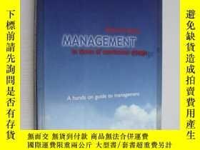 二手書博民逛書店Management罕見in times of continou