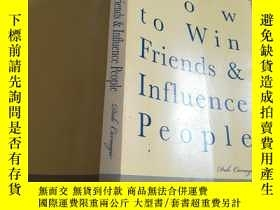 二手書博民逛書店How罕見to Win friends&Influence peopleY448296 Dale carneg