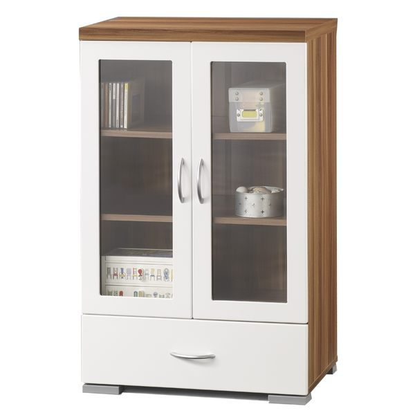 展示櫃 (鏡面雙門) 展示架/玻璃櫃/電視櫃組合