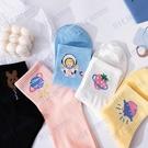 日系甜美可愛女襪子韓國ins潮百搭卡通創意個性學生運動中筒襪