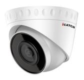 ICATCH IN-HC-4201Z-P 2百萬畫素30米紅外線日夜兩用網路半球型攝影機(2.8mm/4mm)