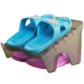 宿舍雙層立體鞋架經濟型收納迷你鞋架小型鞋托架塑料 nm1302 【VIKI菈菈】