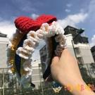 手工編織蝴蝶結發箍diy材料包毛線發帶發飾頭箍【淘嘟嘟】