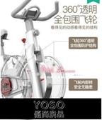 健身車 家用動感單車鍛煉健身車室內器材健身房運動自行車T