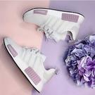 【現貨折後$3380】adidas NMD R1 白粉紫 薰衣草 BOOST 運動 女 休閒 舒適 BD8024