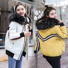 VK精品服飾 韓國風棉衣短款寬松羽絨棉服單品外套