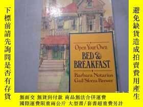 二手書博民逛書店Open罕見Your Own Bed & BreakfastY2