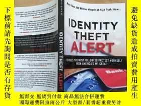 二手書博民逛書店identity罕見theft alert(英文原版)Y1102