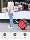露營必備 * 摺疊收納車 購物車 買菜車 摺疊手拉車 可放車上收納置物 可當小椅子