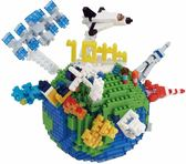 《Nano Block迷你積木》NBM-028 地球╭★ JOYBUS玩具百貨