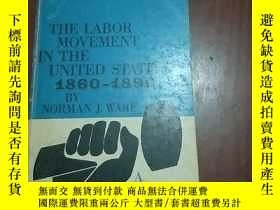 二手書博民逛書店THE罕見LABOR MOVEMENT IN THE UNITE