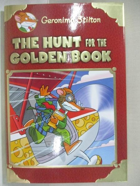 【書寶二手書T9/原文小說_GJJ】The Hunt for the Golden Book_Stilton, Geronimo