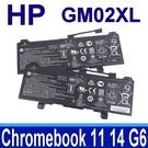 HP GM02XL 2芯 原廠電池 HSTNN-DB7X HSTNN-UB7M L42550-541 TPN-Q185 Chromebook 11 G6 EE Chromebook X360 11-AE X360 11 G1 EE