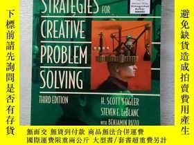 二手書博民逛書店Strategies罕見For Creative Problem Solving (3rd Edition)【創造