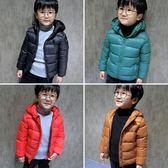 男童羽絨服 寶寶冬裝男童加厚羽絨外套小童輕薄棉襖兒童棉服1-2-3-4歲5潮 卡卡西