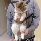 寵物外出包貓咪胸前包貓背帶貓包便攜外出攜帶溜貓背貓寵物出行外帶背包神器  COCO