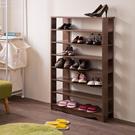 鞋櫃 鞋架 收納【收納屋】加藤開放式七層鞋櫃& DIY組合傢俱