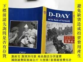 二手書博民逛書店【英文原版】D-DAY罕見and the Battle of N