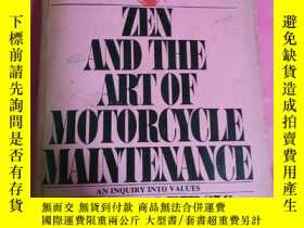二手書博民逛書店ZEN罕見ANDTHE ART OF MOTORCYCLE MA