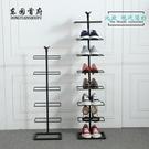 鐵藝鞋架多層簡易客廳家用經濟型多功能現代...