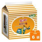 統一麵 肉骨茶風味 93g (5入)x6袋/箱