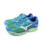 美津濃 Mizuno 慢跑鞋 藍綠色 男鞋 no033