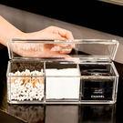 收納盒 (3格有蓋)高級壓克力彩妝收納盒...