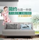 布藝沙發床可折疊客廳小戶型多功能坐臥兩用現代簡約單雙人折疊床MBS 「時尚彩紅屋」
