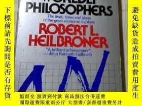 二手書博民逛書店THE罕見WORLDLY PHILOSOPHERS--世俗的哲學