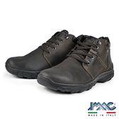 【IMAC】義大利真皮輕量減震氣墊休閒鞋  深咖啡(81168-DBR)