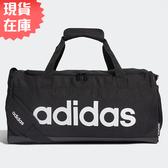 【現貨】ADIDAS LINEAR LOGO DUFFEL (S) 旅行袋 手提袋 健身 黑 【運動世界】FL3693