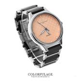 精密陶瓷不銹鋼獨特格紋面板錶款手錶 范倫鐵諾Valentino 柒彩年代【NE1123】原廠公司貨