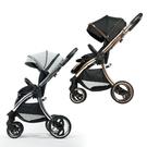 【贈掛袋+雨罩】hyBrid core premium 嬰兒推車|手推車(星空/極致灰)