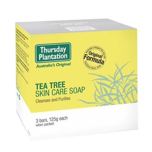 星期四農莊超值三入茶樹純淨皂Tea Tree Soap【台安藥妝】